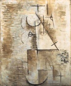 Pablo Picasso. Tête. 1911