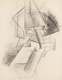 Pablo Picasso. Tête. 1911.